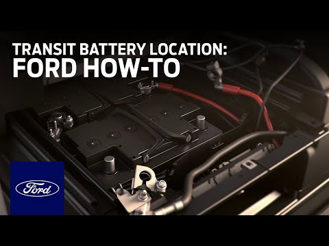 Transit Battery Location | Ford How-To | Ford