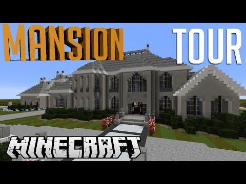 Minecraft Mini Mansion Tour!!