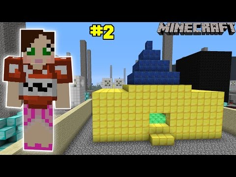 Minecraft - City - GOLDEN HOUSE CHALLENGE [2]