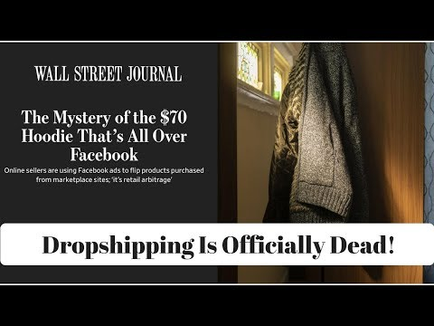 Is Shopify Dead 2018? Wall Street Journal Exposes Shopify Dropshipping Scam! (This Is Clickbait)