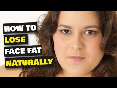 How to Lose Face Fat & Get Rid of Chubby Cheeks Naturally at Home