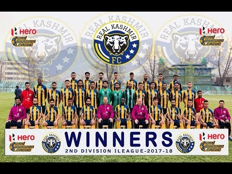 Real Kashmir FC Emerge Champion To Win Ticket To Hero I-League