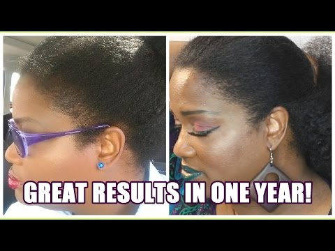 THICKER AND FULLER EDGES ONE YEAR RESULTS NeziNapps