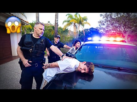 Xxx Mp4 Last To Get ARRESTED Wins 10 000 Hide N Seek From S W A T Team 3gp Sex