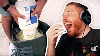 Unge REAGIERT auf Mayo im Rucksack?! | #ungeklickt