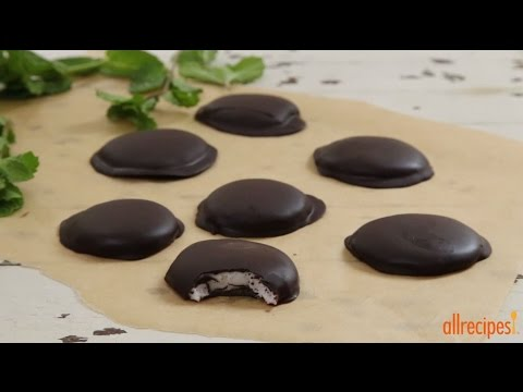 How to Make Chocolate Covered Peppermint Patties | Candy Recipes | Allrecipes.com