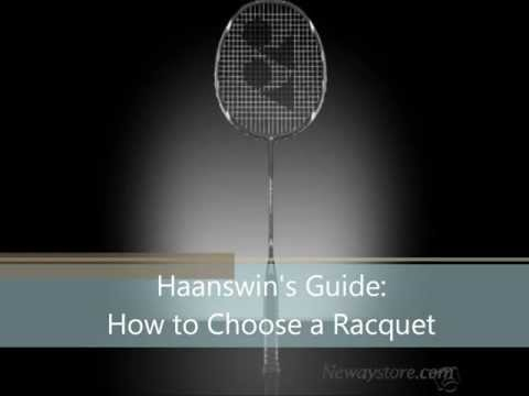 How to Choose a Badminton Racquet (Strings + Tension)