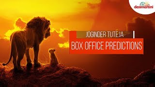 The Lion King Box Office Prediction   Jhootha Kahin Ka   Family Of Thakurganj