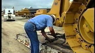 Loading, Transporting & Unloading Heavy Equipment
