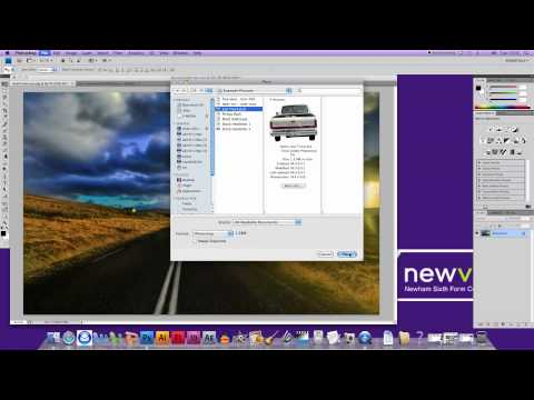 Photoshop CS4 - How to Layer Images