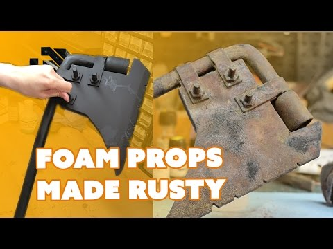 How to Paint Foam Props to Look Rusty - Prop: Live from the Shop