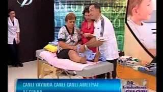 Dr. Feridun Kunak Show 6 Eylül B6 (Diz Altındaki Şişmelerde Yapılması Gerekenler 1)