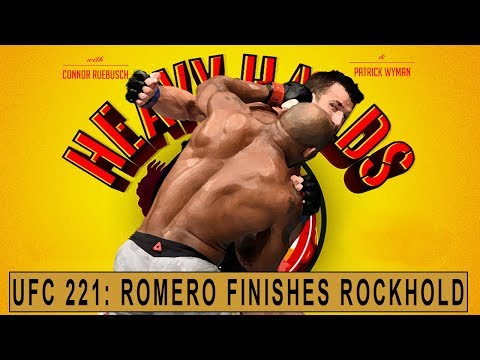 Yoel Romero loves (murdering) Luke Rockhold (Heavy Hands #198)