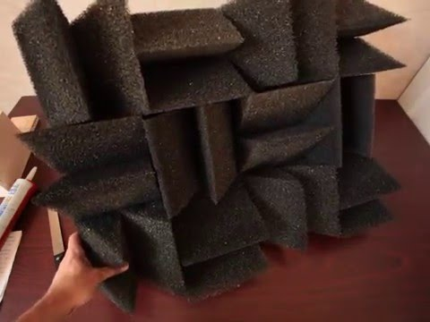 Worlds Best DIY Acoustic Diffuser