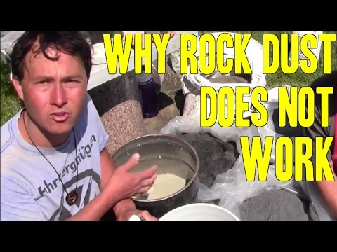 Why Rock Dust Does Not Work