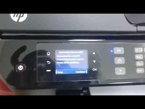 HP OFFICEJET 4630 : Wireless setup