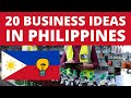 20 Business Ideas in Philippines to Start Your Own Business