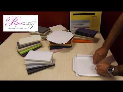 Paperglitz Invitation Boxes