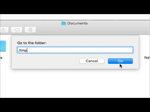 How to find temp folder on your Mac