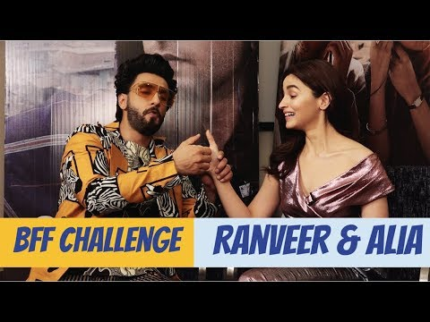 Xxx Mp4 Ranveer Singh And Alia Bhatt Take The BFF Challenge Gully Boy POP Diaries Exclusive 3gp Sex