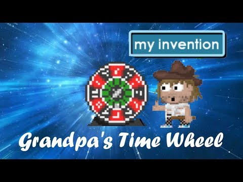 Growtopia : Grandpa's Time Wheel