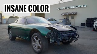 RX-7 Goes Off to Paint!