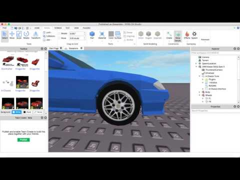 Roblox Car Tutorial - How To Make AC6.33 Drift