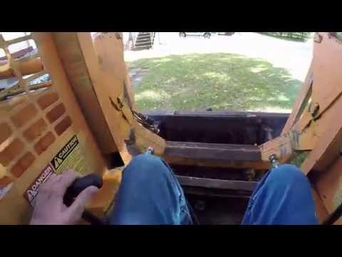 1991 gehl 4615 diesel skid steer