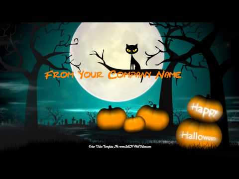 Amazing Halloween Greeting Videos For Your Business, Website or Facebook Page