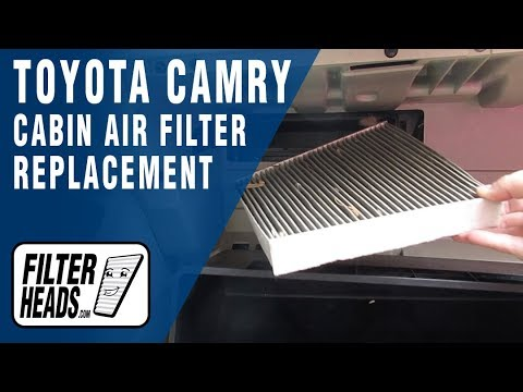 How to Replace Cabin Air Filter 2007 Toyota Camry