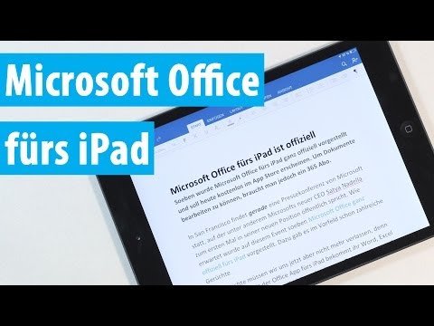 Microsoft Office fürs iPad - Word, Excel und PowerPoint angetestet!