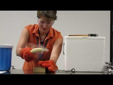 liquid nitrogen banana hammer