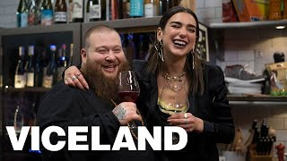Cooking with Dua Lipa and Action Bronson