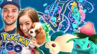 Pokemon GO W/ Ali! - RARE SPAWN AND ULTIMATE NEST!