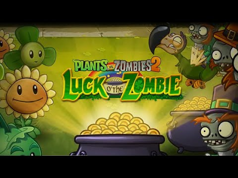 Plants vs. Zombies 2 - Luck o' the Zombie Trailer