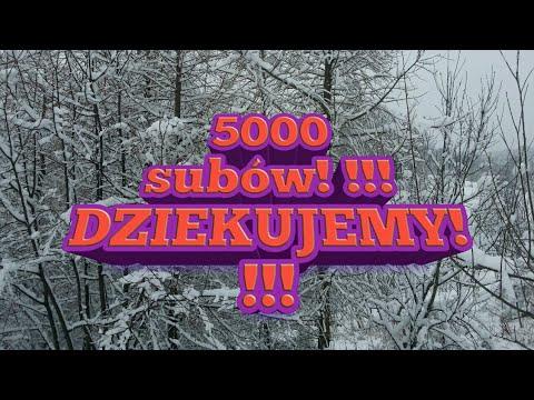 5000 subów :-)chodzenie boso po śniegu czyli holenderski mors:-))