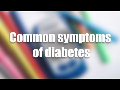 common symptoms of diabetes | Best Health Channel
