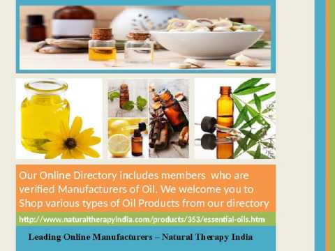 Buy Essential Oil Online from Leading Manufacturer