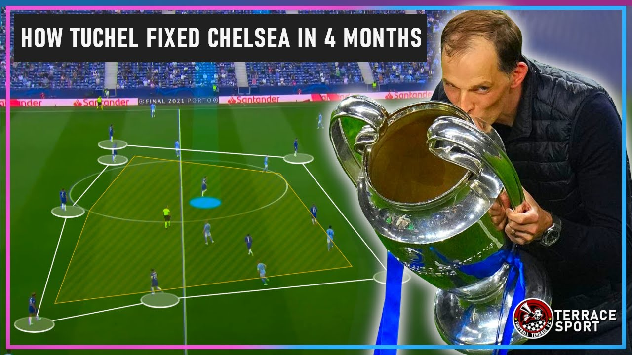 How Thomas Tuchel Made Chelsea The Champions of Europe In Just 4 Months | Tactical Analysis