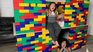 Building A 2 Story Lego Mansion