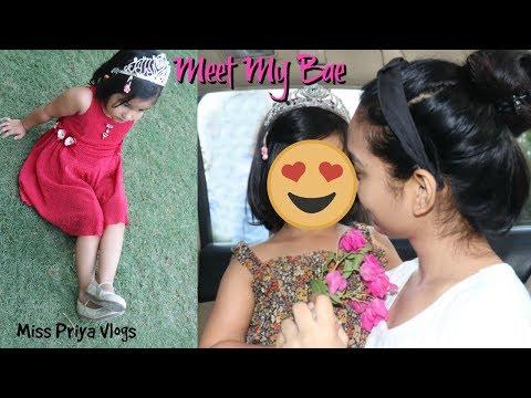 Meet My Bae , My love - DORA | CUTEST & YOUNGEST VLOGGER | Miss Priya VLOGs | Miss Priya TV |
