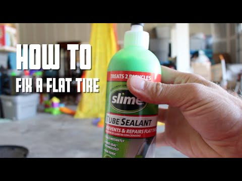 HOW TO Fix Your Flat Tire Tube with