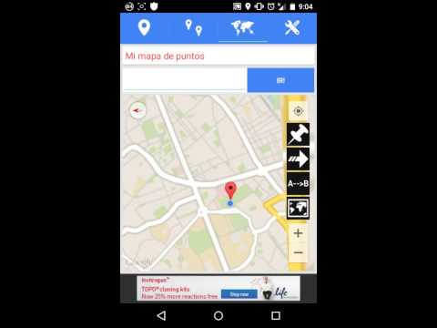 Latitude longitude location app