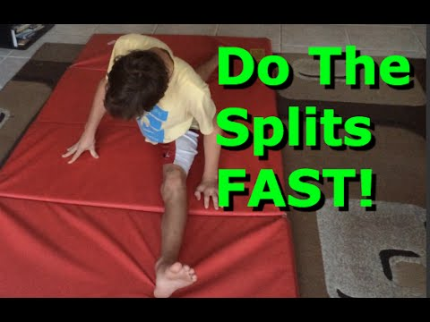 How To Do The Splits If You're NOT Flexible!