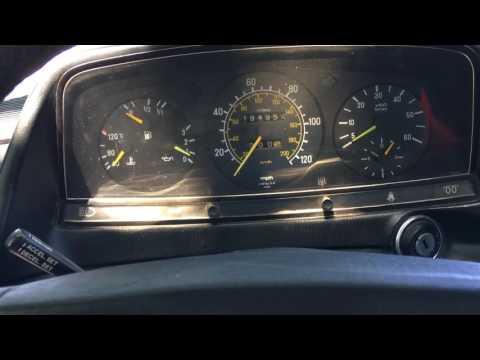 1985 Mercedes Benz 300D Turbo Test Drive