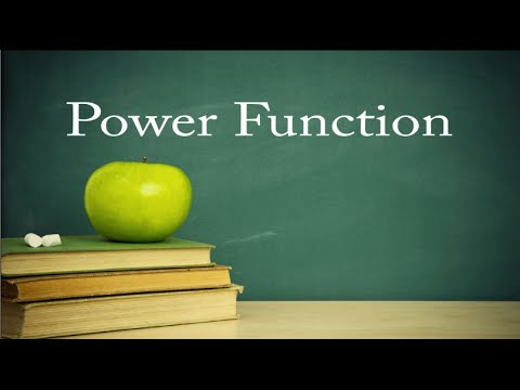 College Algebra Lesson 15: Parent (Power) Functions