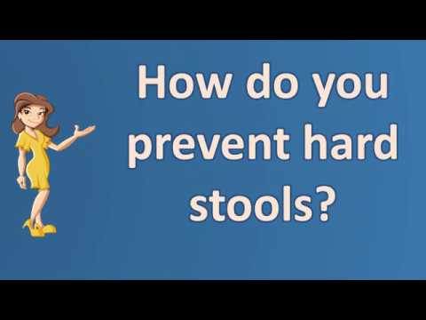 How do you prevent hard stools ? | Good Health for All