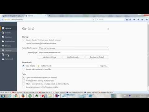 How to Change Proxy Settings