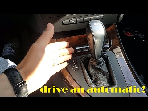 How to drive a car with an automatic gearbox