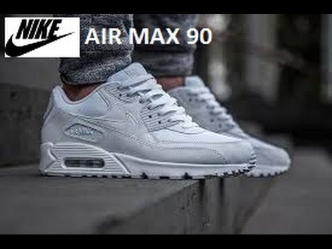 Nike air max 90 white Trainers women / Mens QUICK 1 MIN REVIEW!